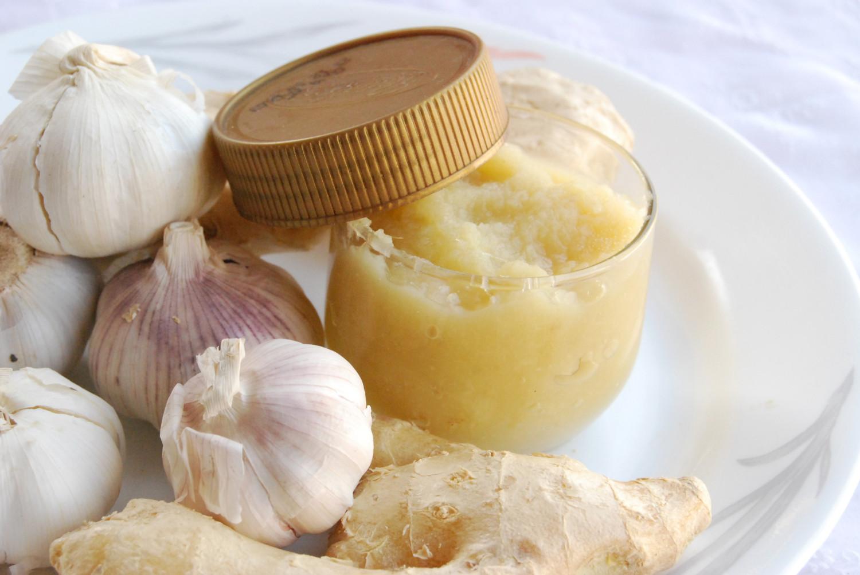 Ginger Garlic Hummus
