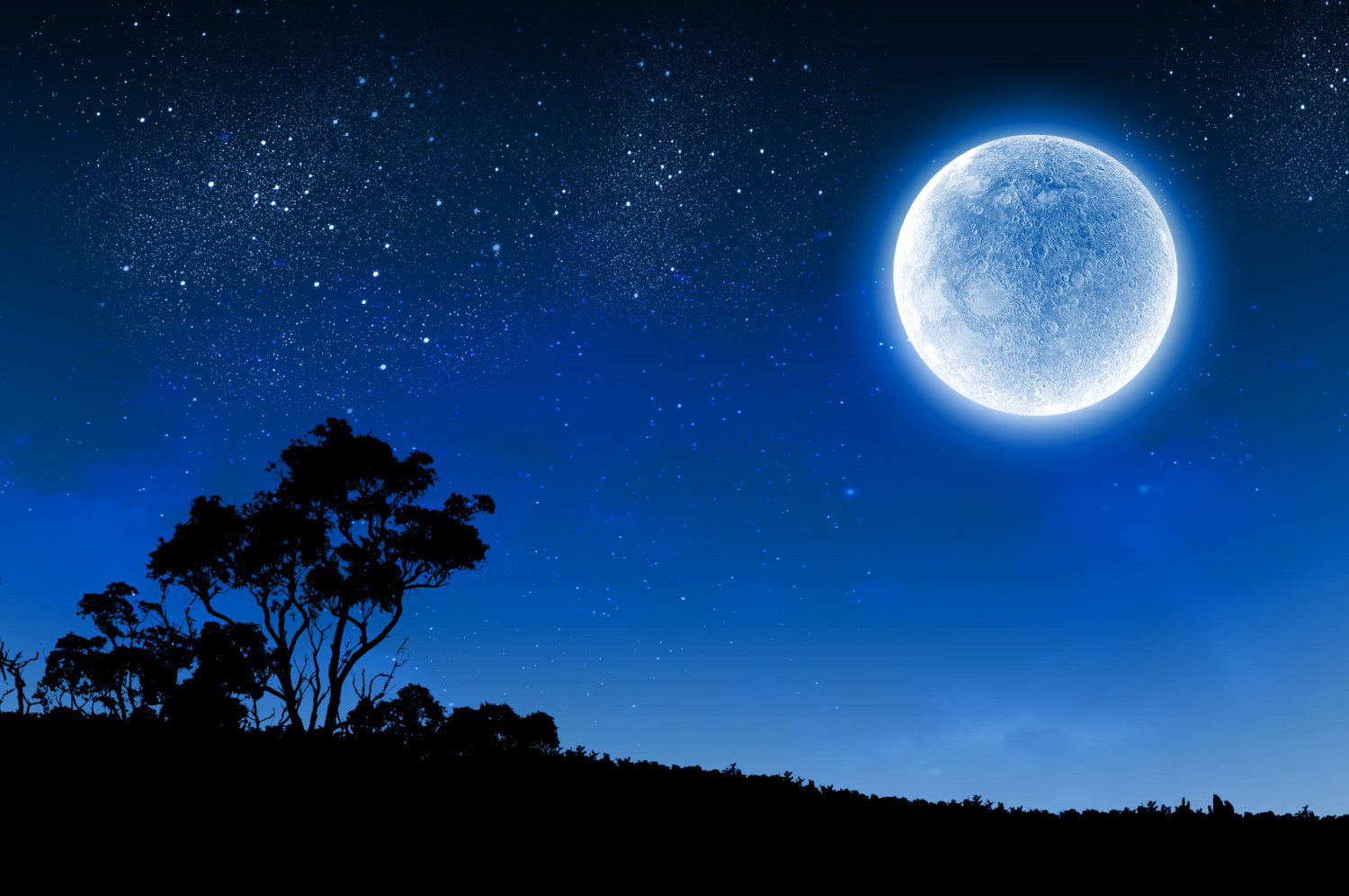 """Blue Moon Note that due to the 29-day lunar cycle the exact dates of the full moon move every year. Most seasons have three full moons, but because of the variation some seasons have four full moons. The term """"blue moon"""" was used to identify one of these extra full moons. A mistaken definition in the March 1946 edition of Sky and Telescope magazine claimed the blue moon fell on the second full moon of the calendar month. This mistake caused widespread misunderstanding until it was finally corrected in 1999."""