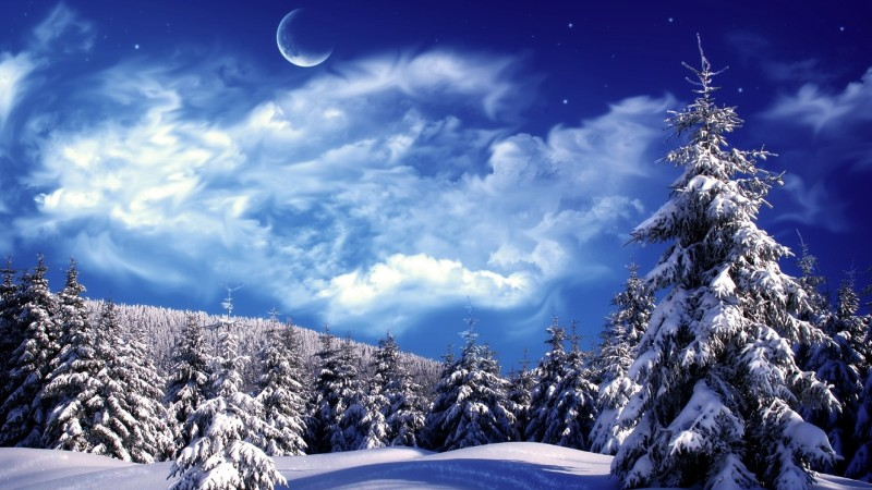 February: The Snow Moon Snow piles even higher in February, giving this moon its most common name. Among tribes that used this name for the January moon, the February moon was called the Hunger Moon due to the challenging hunting conditions.