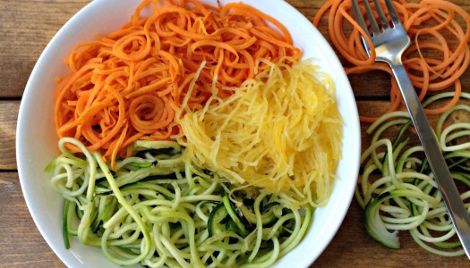 Make Your Own Pasta with Veggies – Voodles