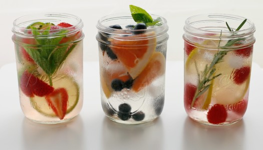 Fancy up your H2O: Stay Hydrated