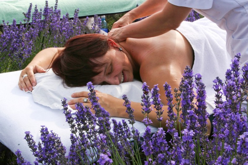 Lavenderfield massage