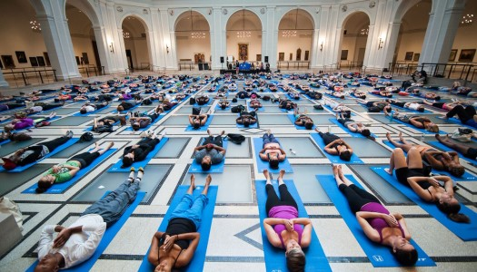 Art of Yoga at Brooklyn Museum [4.22.17]