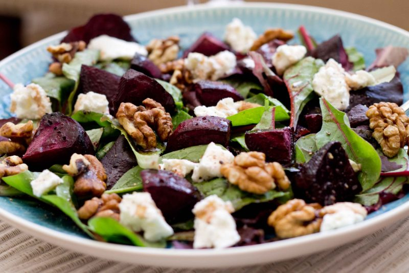 Everything_soulful_Beet-goats-cheese-and-walnut-salad