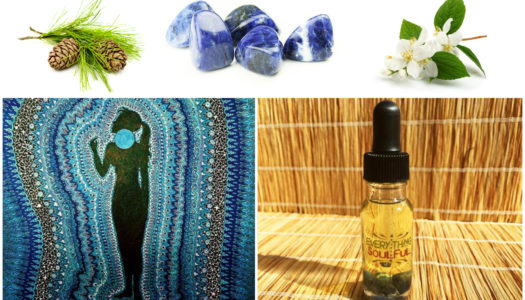 CREATIVITY Infused with Sodalite Crystal Aromatherapy Potion