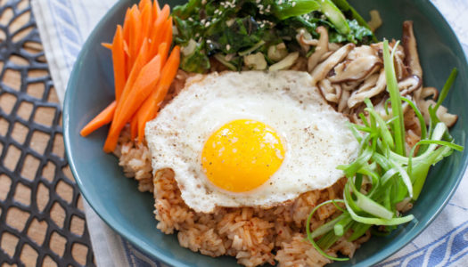 Vegetable Bibimbap: The Perfect Harmony