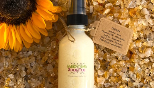 OSHUN Infused with Citrine Crystal Aromatherapy Spritzer