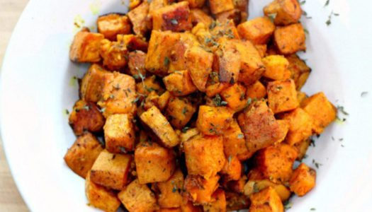Sweet Cinnamon Turmeric Potatoes
