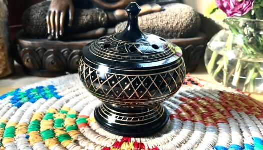 Brass  Burner for Herbal Blends and Resin